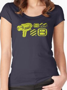 Super 8 Women's Fitted Scoop T-Shirt