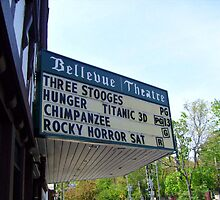 The Bellevue Theater, Upper Montclair NJ by Jane Neill-Hancock