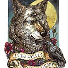 Let the wolves guide you home  by WOLFSKULLJACK