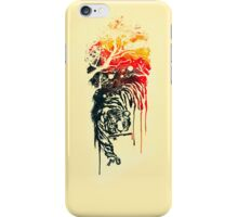 Painted watercolor tiger iPhone Case/Skin