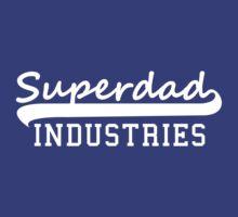 Superdad INDUSTRIES Father Design White by MILK-Lover