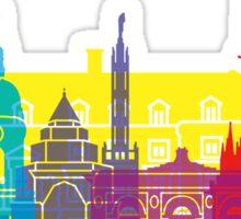 Amiens skyline pop Sticker