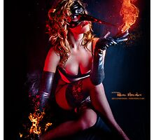 The Pyromancer I by ravenmacabre