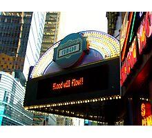 Times Square Comedy Club / Times Square Arts Center Photographic Print
