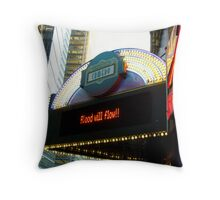 Times Square Comedy Club / Times Square Arts Center Throw Pillow