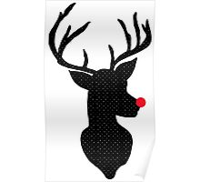 Rudolph Christmas Poster