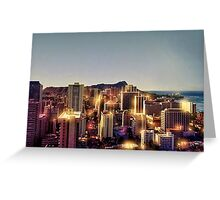 A beautiful day i Hawaii Greeting Card