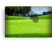 Beautiful golf course at Shoreline Canvas Print