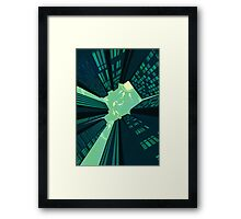 Solitary Dream - as above so is below Framed Print