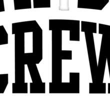 NEW DAD CREW EST 2013 Black Sticker