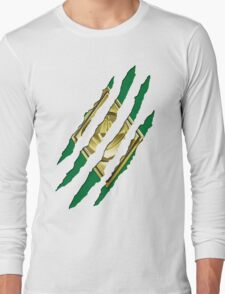 Secret Identity - Green Ranger Long Sleeve T-Shirt
