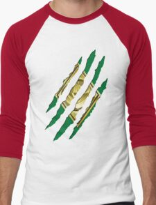 Secret Identity - Green Ranger Men's Baseball ¾ T-Shirt
