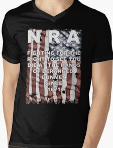 Stop the NRA Mens V-Neck T-Shirt