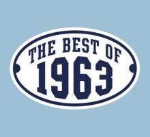 THE BEST OF 1963 2C Birthday Navy/White T-Shirt T-Shirt