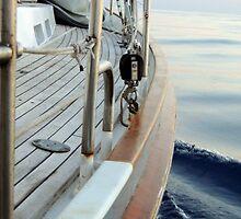 Empty sails, flat seas. by Steve Haynes  Photography