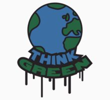 Think Green Earth by Style-O-Mat