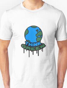 Think Green Earth T-Shirt