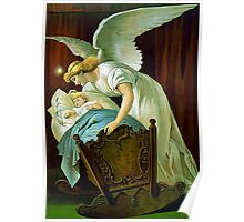 Angel And Baby Poster