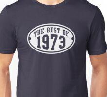 THE BEST OF 1973 Birthday T-Shirt White Unisex T-Shirt