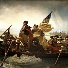 Washington Crossing the Delaware by TilenHrovatic