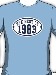 THE BEST OF 1983 2C Birthday T-Shirt Navy/White T-Shirt