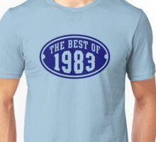 THE BEST OF 1983 Birthday T-Shirt Navy Unisex T-Shirt