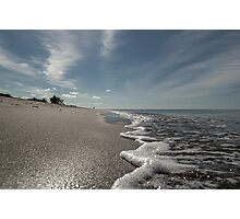 December at Turtle Beach Photographic Print