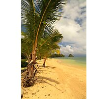 Secret Beach - Oahu Photographic Print