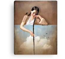 Touch The Sky (Rapunzel) Canvas Print