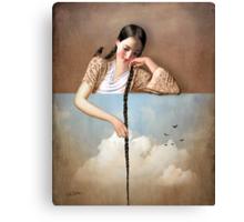 Touch The Sky (Rapunzel) Canvas Print