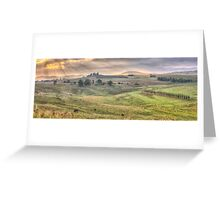 A Touch of Tuscany In The Snowy Mountains, Jingelic NSW/Walwa Victoria - The HDR Experience Greeting Card