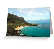 Makapu'u Greeting Card