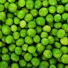 Green Peas Background by TilenHrovatic