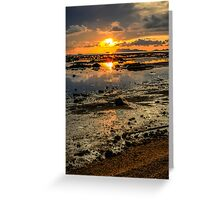 Sunset says it all Greeting Card