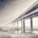 Sheppey bridge by Ian Hufton