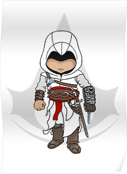 Assassin&#x27;s Creed: Altair Chibi by SushiKitteh&#x27;s Creations