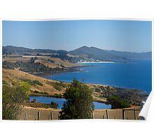 Tasmanian Coastline Poster