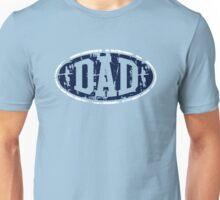 DAD Vintage Design T-Shirt Navy/White Unisex T-Shirt