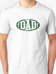 DAD Vintage Design T-Shirt Green/White T-Shirt