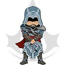 Assassin's Creed Revelations: Ezio Chibi by SushiKitteh's Creations