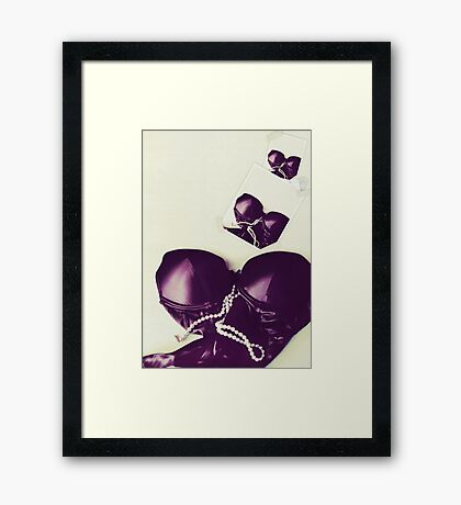 Seductive Framed Print