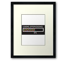 RAM Design Loading Effervescence Plate #55 Framed Print