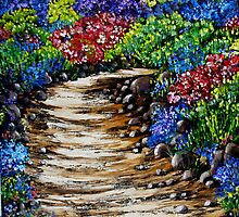 Wildflowers Oil Painting by Avril Brand