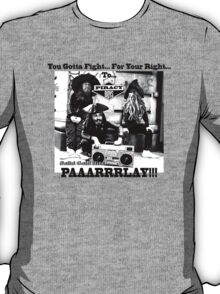 Pirates Parlay - Beastie boys parody T-Shirt