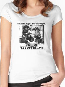 Pirates Parlay - Beastie boys parody Women's Fitted Scoop T-Shirt