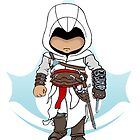 Assassin's Creed: Altair Chibi: Animus Edition by SushiKittehs