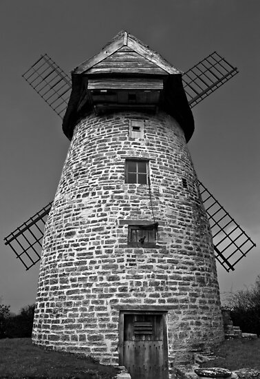 Stembridge tower Mill, High Ham, Wiltshire. by Tony Batey