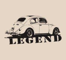 Beetle LEGEND T-Shirt Black by MILK-Lover