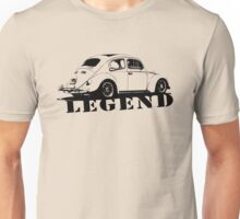 Beetle LEGEND T-Shirt Black Unisex T-Shirt