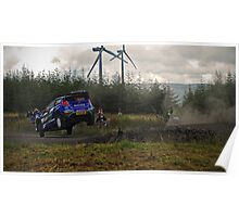 Go Further-Wales Rally GB  Poster